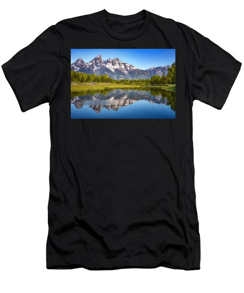 Ripples In The Tetons Men's T-Shirt (Athletic Fit)