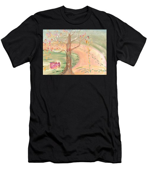 Ripples Of Spring Men's T-Shirt (Athletic Fit)