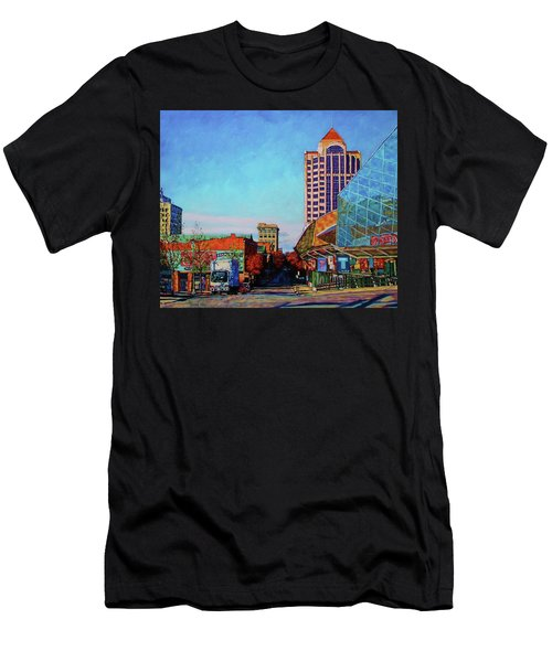 Rise And Shine - Roanoke Virginia Morning Men's T-Shirt (Athletic Fit)