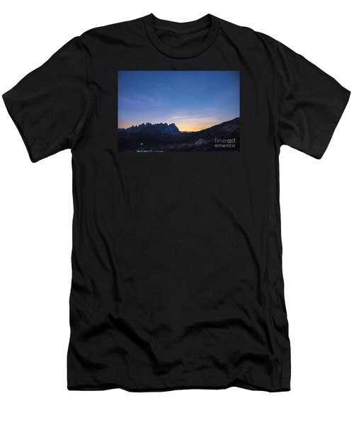 Men's T-Shirt (Slim Fit) featuring the photograph Rise Up by Yuri Santin