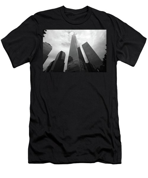 Men's T-Shirt (Athletic Fit) featuring the photograph Risen Out Of The Rubble by John Schneider