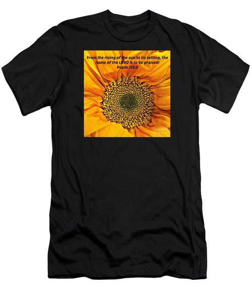 Rising Of The Sun Men's T-Shirt (Athletic Fit)