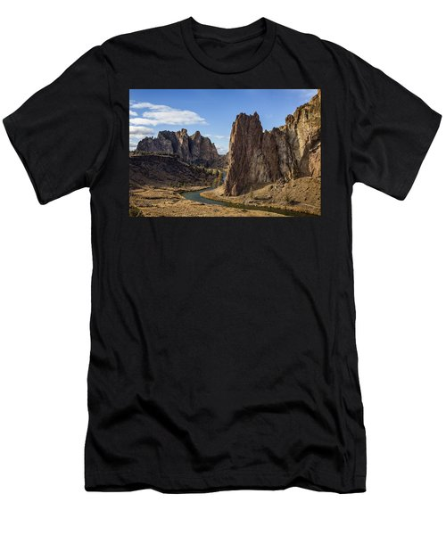 River And Rock Men's T-Shirt (Athletic Fit)