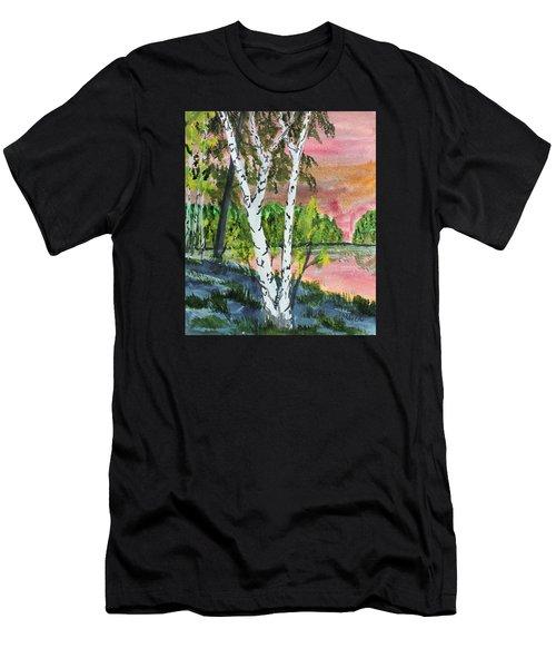 River Birch Men's T-Shirt (Athletic Fit)