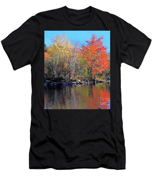 River Color Men's T-Shirt (Athletic Fit)