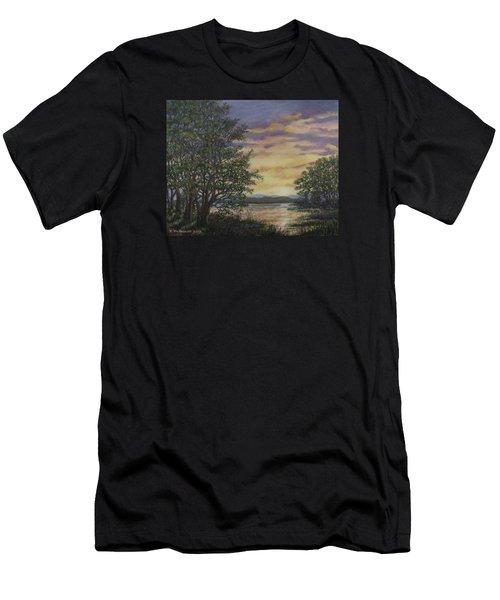 River Cove Sundown Men's T-Shirt (Athletic Fit)