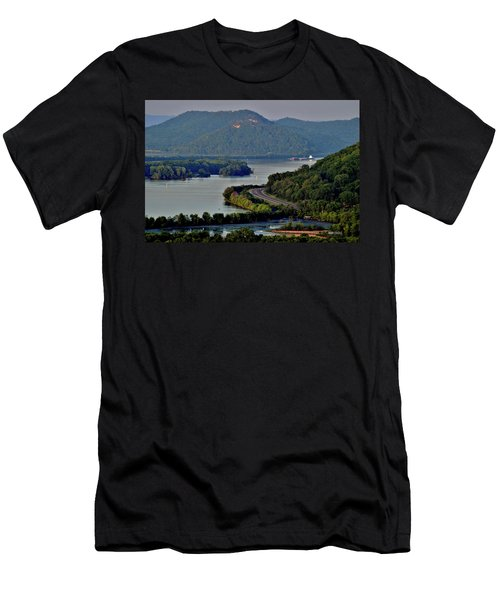 River Navigation Men's T-Shirt (Athletic Fit)