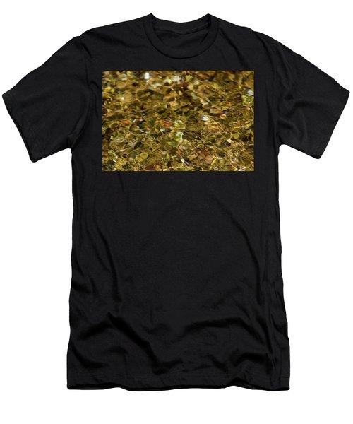 River Pebbles Men's T-Shirt (Athletic Fit)
