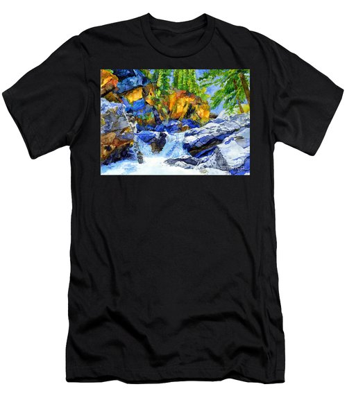 River Pool Men's T-Shirt (Athletic Fit)