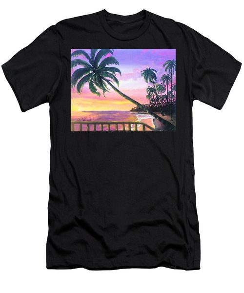 River Road Sunrise Men's T-Shirt (Athletic Fit)