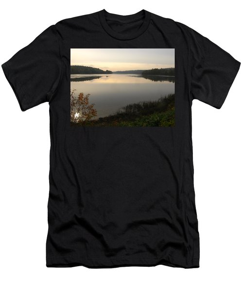 River Solitude Men's T-Shirt (Athletic Fit)