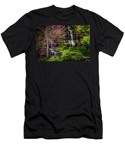Rivercut Waterfall Men's T-Shirt (Athletic Fit)