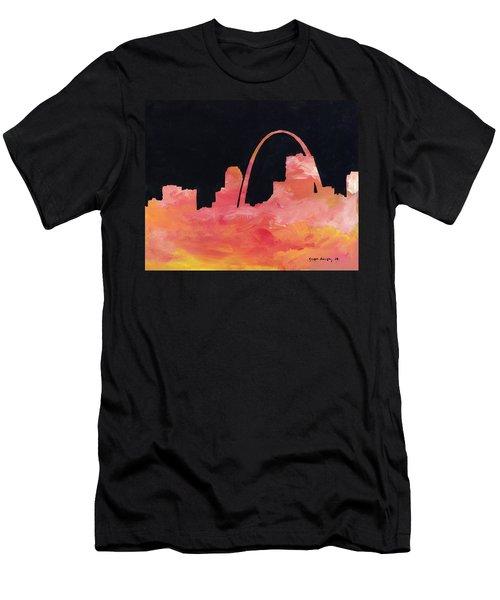 Riverfront Men's T-Shirt (Slim Fit) by Joseph A Langley