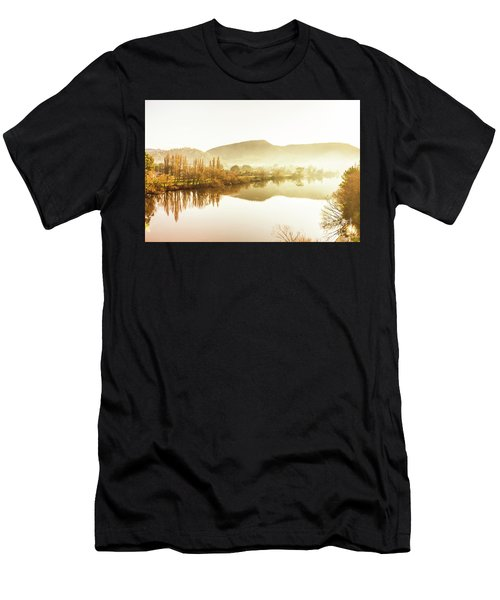 Rivers And Mist Men's T-Shirt (Athletic Fit)