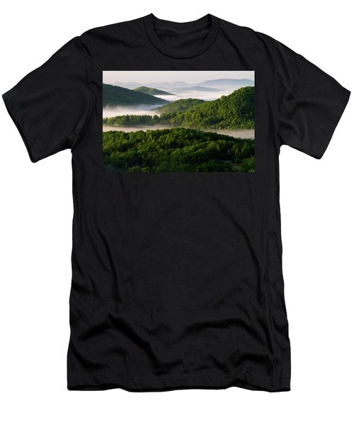 Rivers Of White Men's T-Shirt (Athletic Fit)
