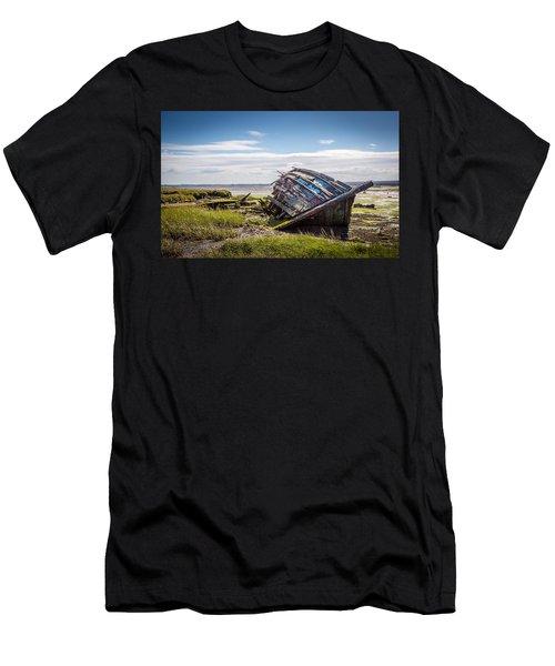 Riverside Boat. Men's T-Shirt (Athletic Fit)