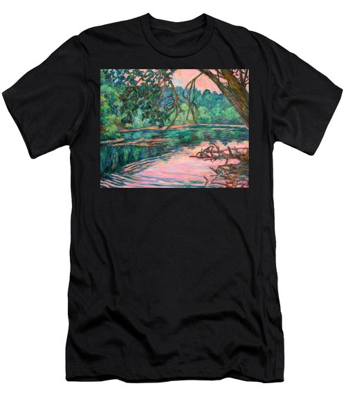 Riverview At Dusk Men's T-Shirt (Athletic Fit)
