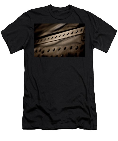 Men's T-Shirt (Slim Fit) featuring the photograph Rivets by Paul Job