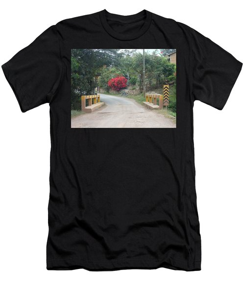 Road 1 Men's T-Shirt (Athletic Fit)