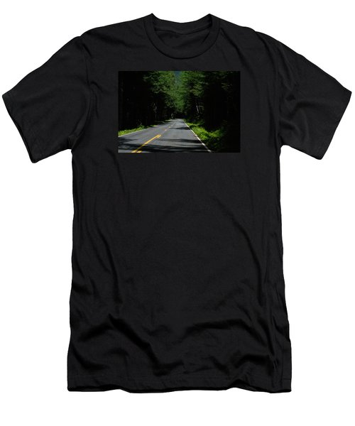 Road Leading To Where? Men's T-Shirt (Athletic Fit)
