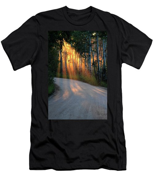 Road Rays Men's T-Shirt (Athletic Fit)