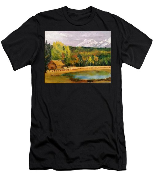 Road To Kintla Lake Men's T-Shirt (Athletic Fit)
