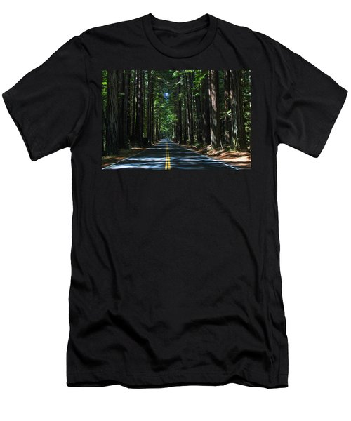 Road To Mendocino Men's T-Shirt (Athletic Fit)