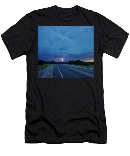 Lightning Over Sonora Men's T-Shirt (Athletic Fit)