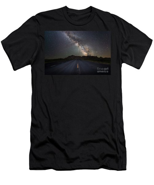 Road To The Heavens Men's T-Shirt (Athletic Fit)