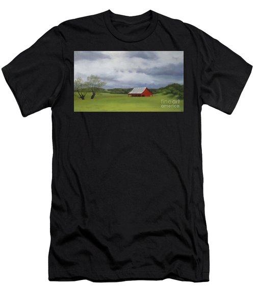 Road To Yosemite Men's T-Shirt (Athletic Fit)