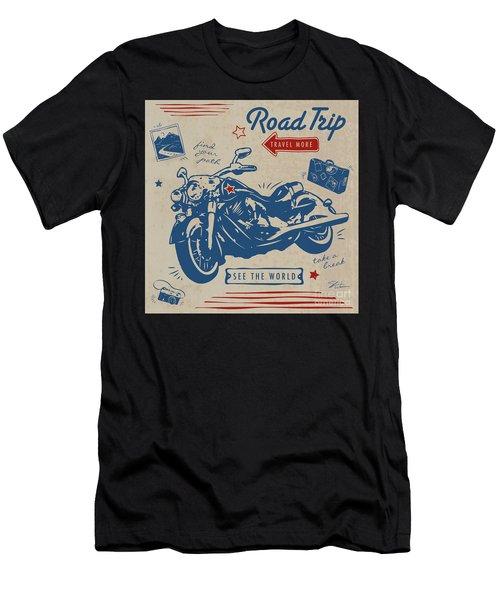 Road Trip Men's T-Shirt (Athletic Fit)