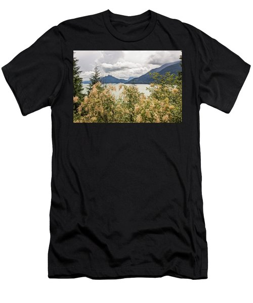 Road With A View Men's T-Shirt (Athletic Fit)