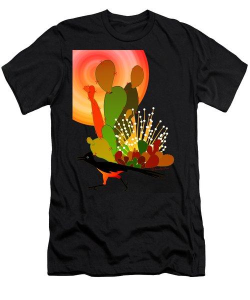 Roadrunner Sunrise Men's T-Shirt (Athletic Fit)