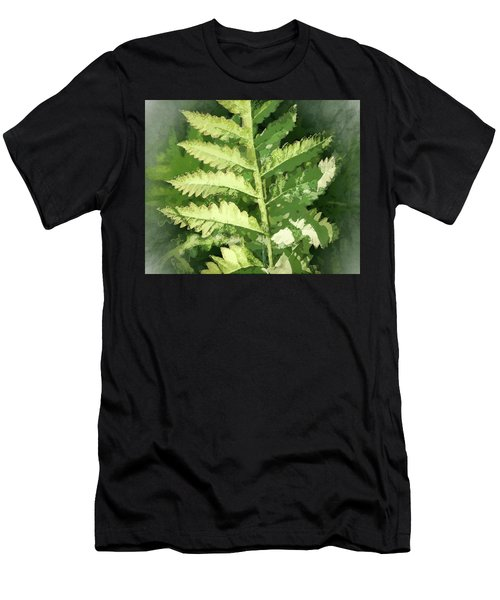 Roadside Fern, Abstract 2 - Men's T-Shirt (Athletic Fit)