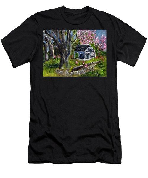 Roadside Vegetable Stand Off Season Men's T-Shirt (Athletic Fit)