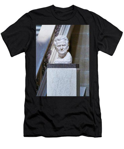 Robert Lafollette Bust - Capitol - Madison Men's T-Shirt (Athletic Fit)