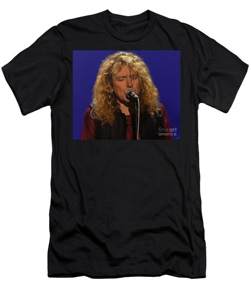 Robert Plant 001 Men's T-Shirt (Athletic Fit)