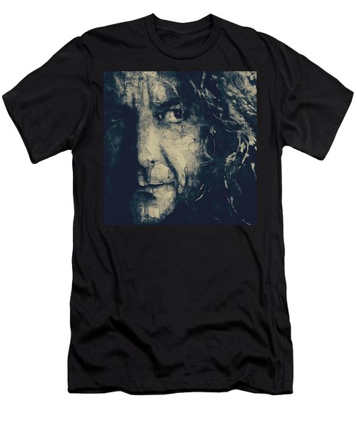 Robert Plant - Led Zeppelin Men's T-Shirt (Athletic Fit)