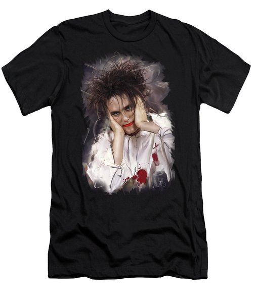 Robert Smith - The Cure Men's T-Shirt (Athletic Fit)