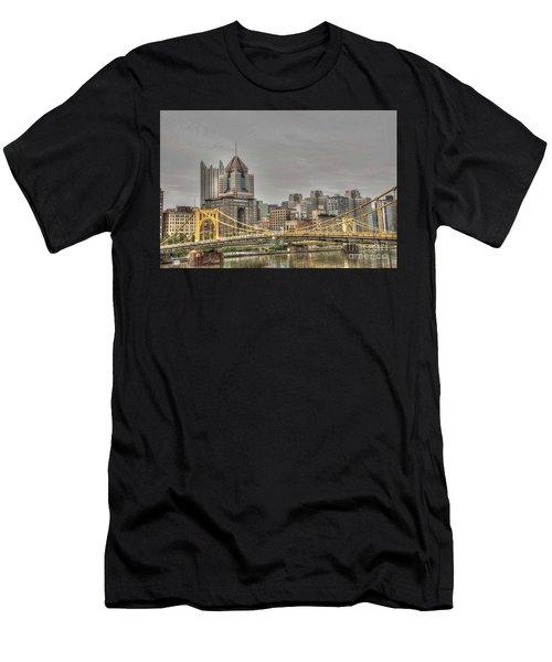 Roberto Clement Bridge Men's T-Shirt (Athletic Fit)