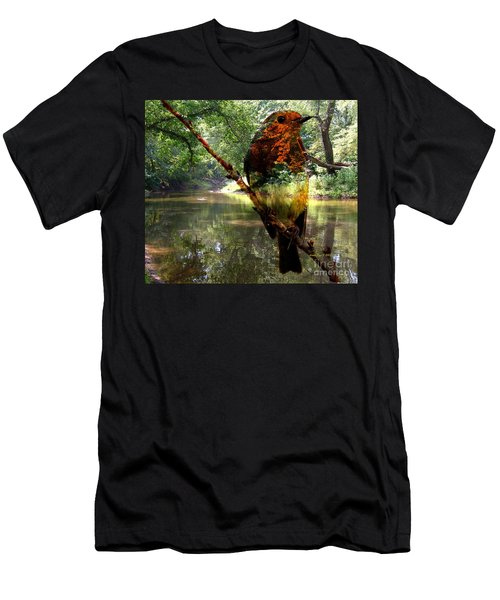 Robin By The River Men's T-Shirt (Athletic Fit)