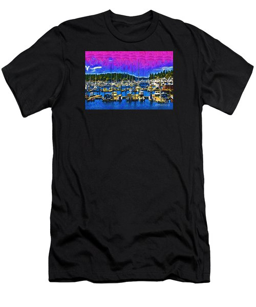 Roche Harbor 1 Men's T-Shirt (Slim Fit) by Kirt Tisdale