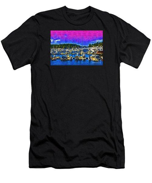 Roche Harbor 1 Men's T-Shirt (Athletic Fit)