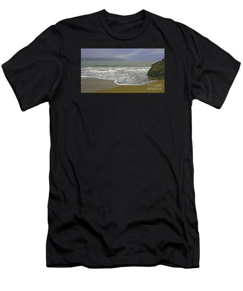 Rock And Sand Men's T-Shirt (Athletic Fit)