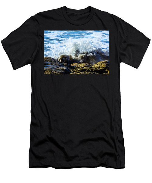Wave Meets Rock Men's T-Shirt (Athletic Fit)
