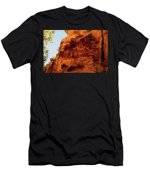 Rock Art From Utah Men's T-Shirt (Athletic Fit)