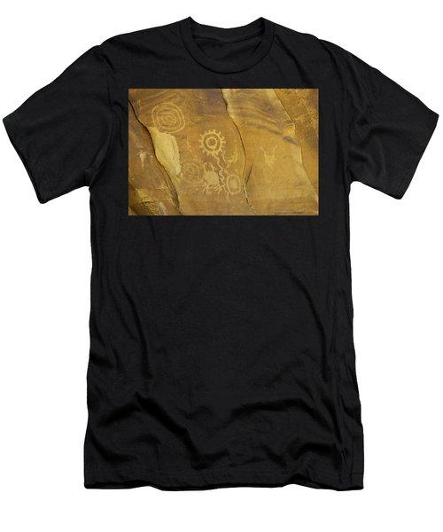 Rock Art From Utah II Men's T-Shirt (Athletic Fit)