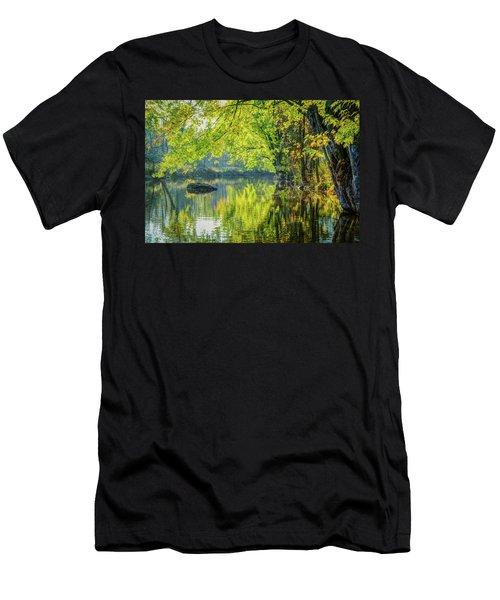 Rock At Sunrise Men's T-Shirt (Athletic Fit)