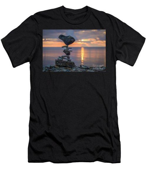 Rock Boarding Men's T-Shirt (Athletic Fit)