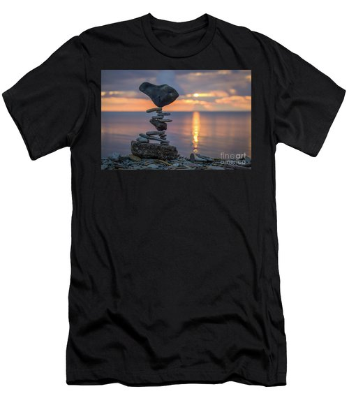 Rock Boarding Men's T-Shirt (Athletic Fit)